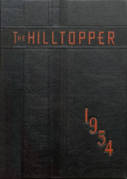1954 Baltic High School Yearbook Cover