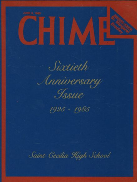 1985 St. Cecilia High School Yearbook Cover