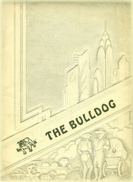 1948 Millsap High School Yearbook Cover