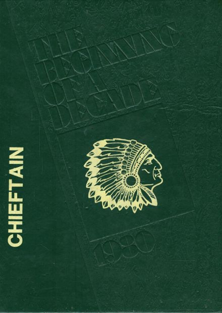 1980 Osceola High School Yearbook Cover
