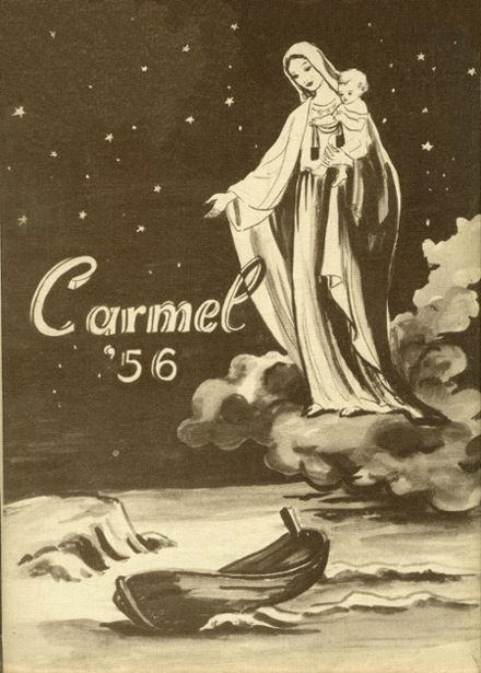 1956 Mt. Carmel High School Yearbook Cover