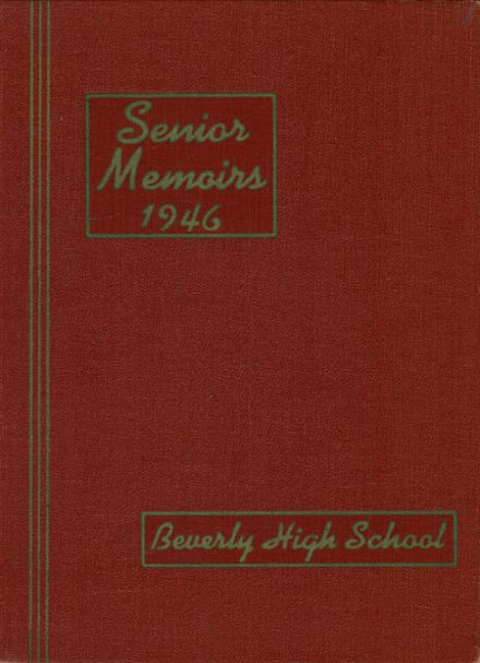 1946 Beverly High School Yearbook Cover