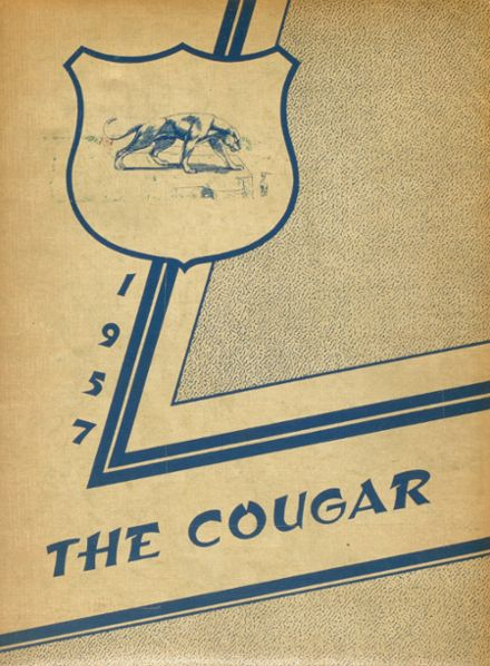 1957 Lyle High School Yearbook Cover