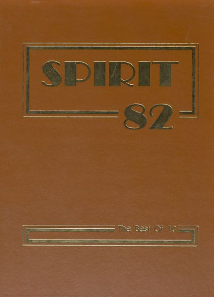 1982 Johnson High School Yearbook Cover