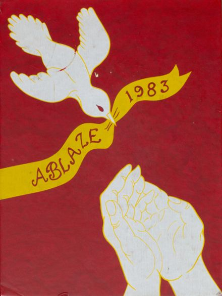 1983 Melodyland High School Yearbook Cover