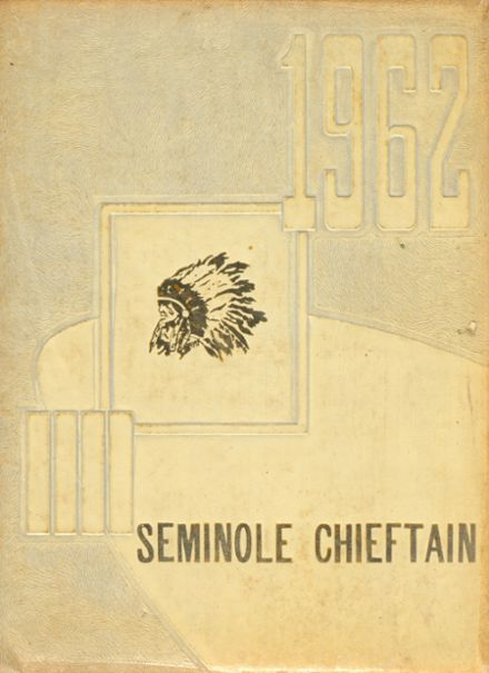 1962 Osceola High School Yearbook Cover