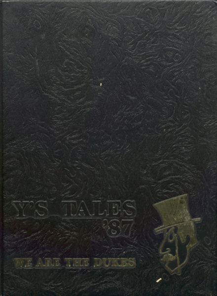 1987 York Community High School Yearbook Cover