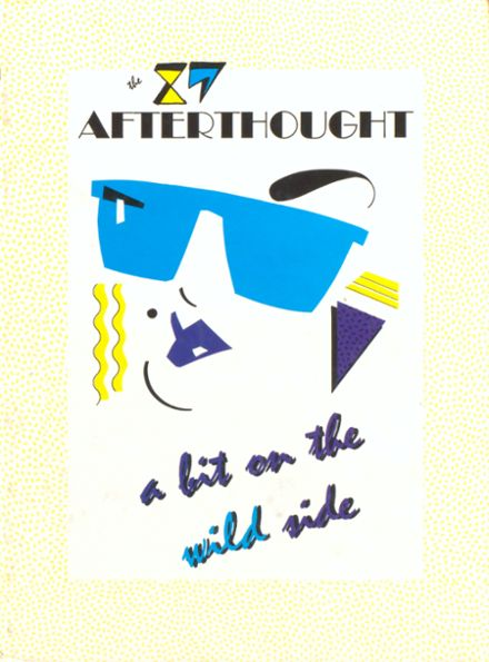 1987 Anderson High School Yearbook Cover