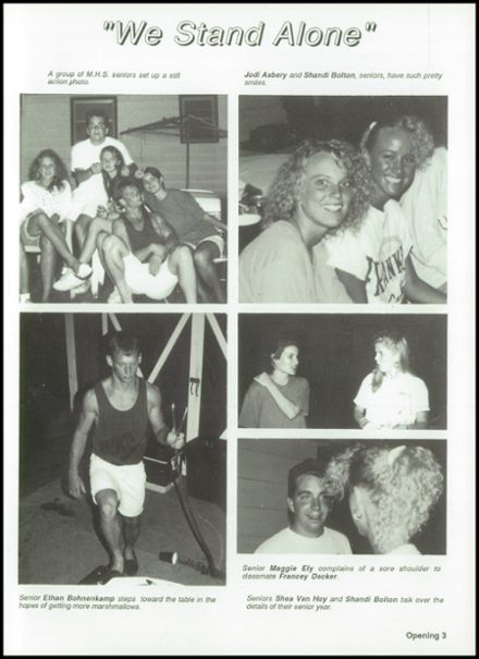 1993 Mitchell High School Yearbook Page 7
