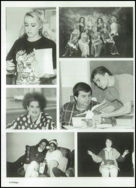 1993 Mitchell High School Yearbook Page 8