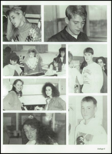 1993 Mitchell High School Yearbook Page 9