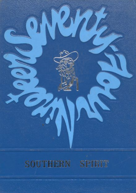 1974 North Sunflower Academy Yearbook Cover