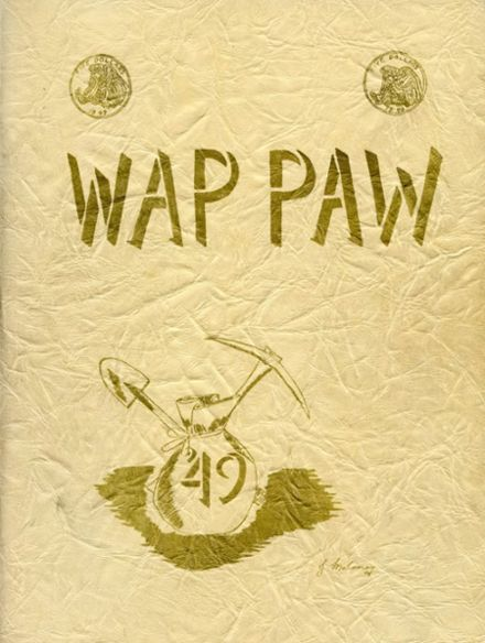 1949 Paw Paw High School Yearbook Cover