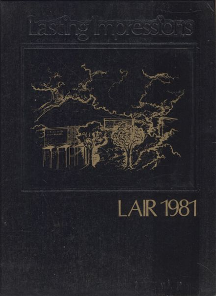 1981 Irving High School Yearbook Cover