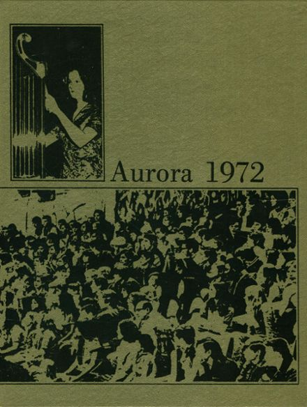 1972 Foothill High School Yearbook Cover