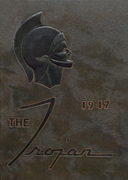1947 Cambridge High School Yearbook Cover