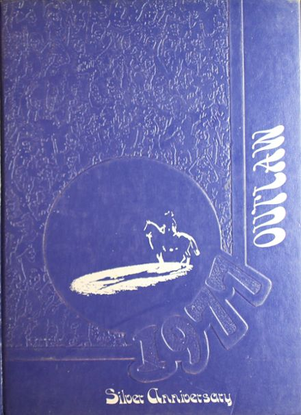 1977 Marlow High School Yearbook Cover