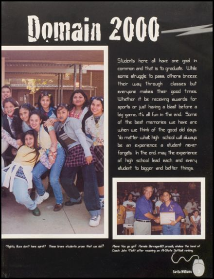 2000 Miller High School Yearbook Page 7