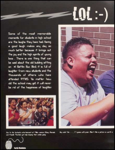 2000 Miller High School Yearbook Page 8