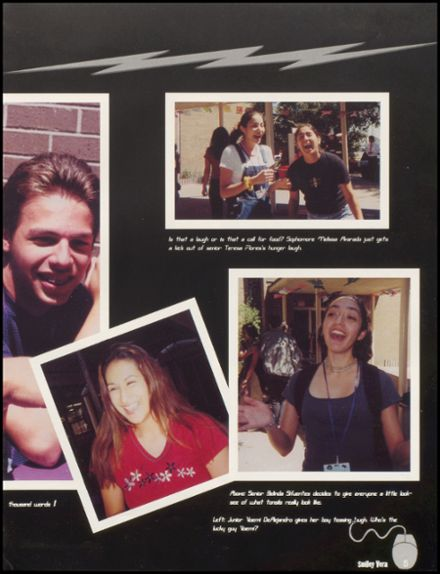 2000 Miller High School Yearbook Page 9