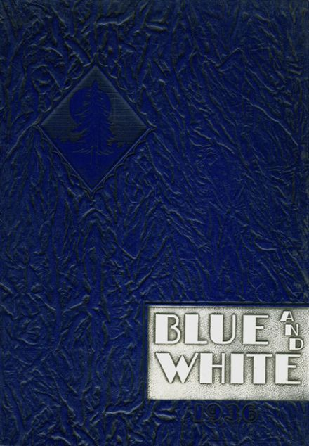 1936 White Pine County High School Yearbook Cover