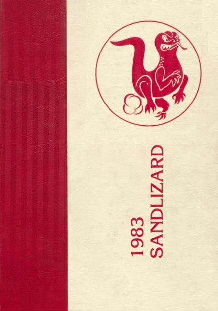 1983 Dardanelle High School Yearbook Cover