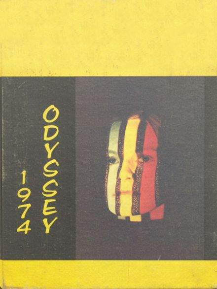 1974 Parkville High School Yearbook Cover