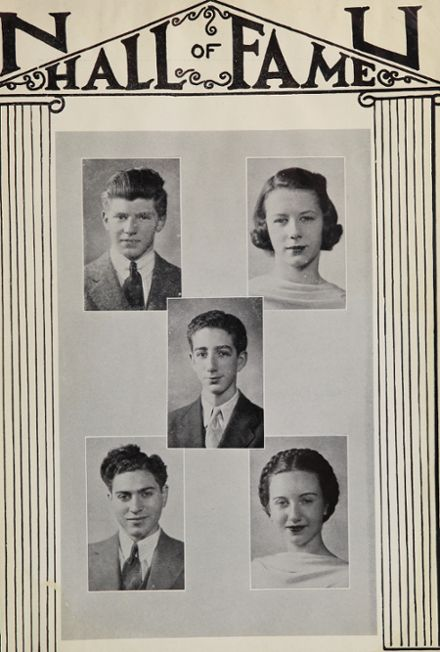 1940 New Utrecht High School Yearbook Page 7