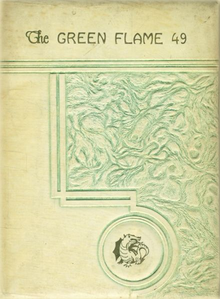 1949 Lake Placid High School Yearbook Cover