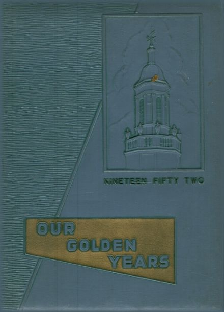 1952 Stamford High School Yearbook Cover