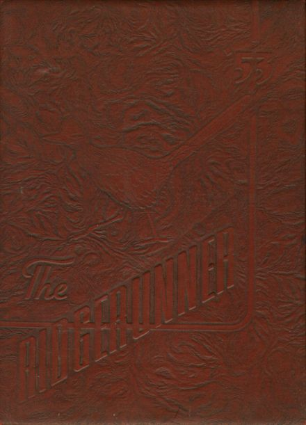 1953 Grove High School Yearbook Cover