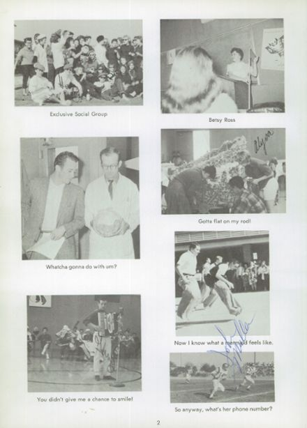1960 Norte Del Rio High School Yearbook Page 6