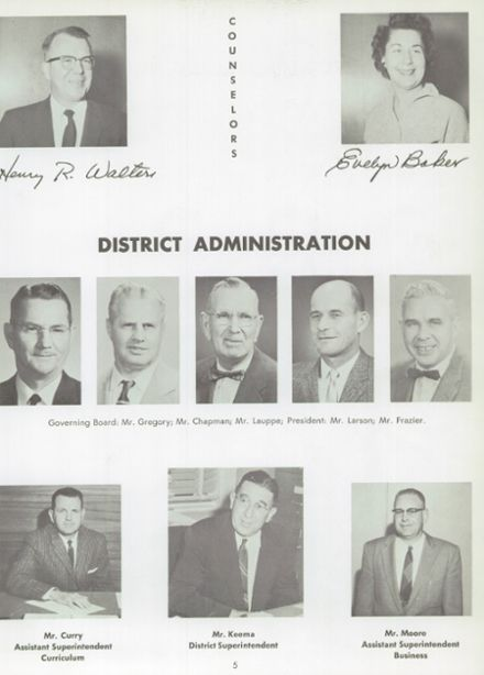 1960 Norte Del Rio High School Yearbook Page 9