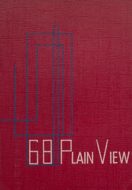 1968 Plainview High School Yearbook Cover