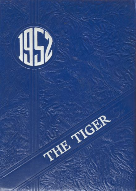 1952 Princeton High School Yearbook Cover