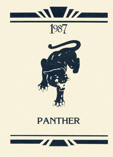 1987 Sterlington High School Yearbook Cover