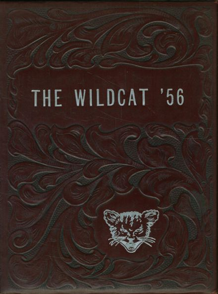 1956 Whitehouse High School Yearbook Cover