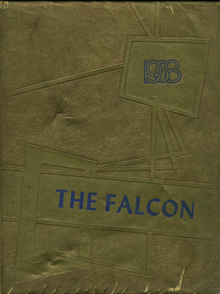 1958 Channelview High School Yearbook Cover