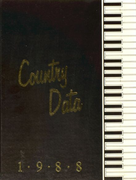 1988 Savannah Country Day School Yearbook Cover