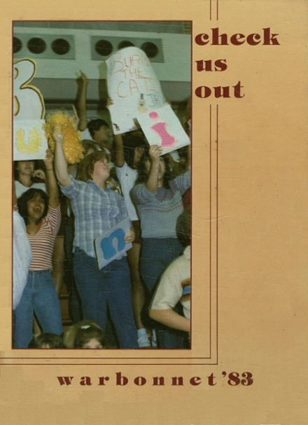 1983 Tuloso Midway High School Yearbook Cover