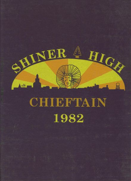1982 Shiner High School Yearbook Cover