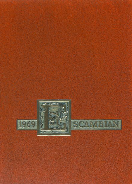 1969 Escambia High School Yearbook Cover