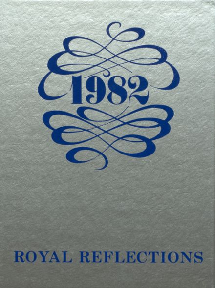 1982 Mason County High School Yearbook Cover