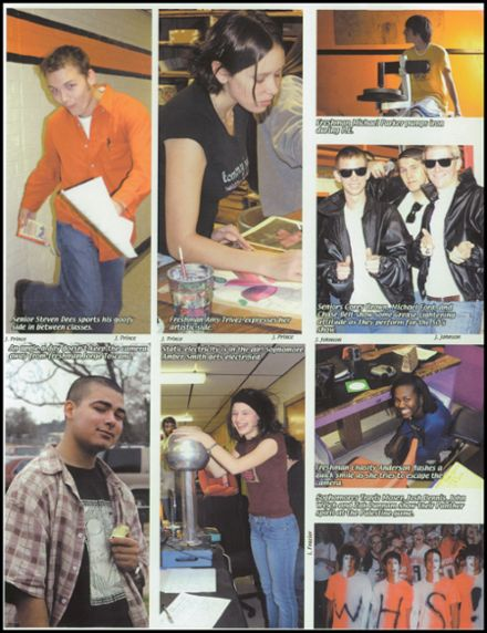 2005 Westwood High School Yearbook Page 7