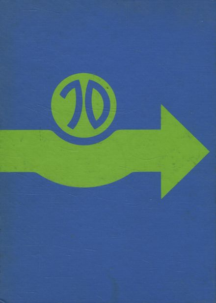 1970 Skaneateles Central High School Yearbook Cover
