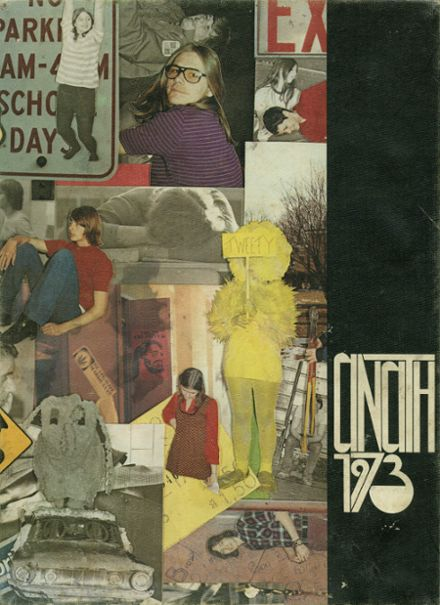 1973 Tecumseh High School Yearbook Cover