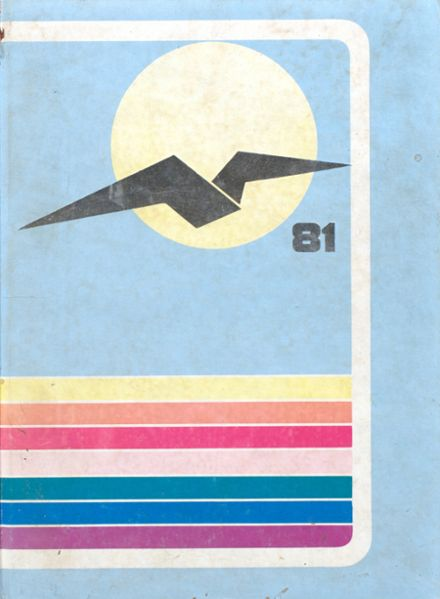 1981 Pompano Beach High School Yearbook Cover