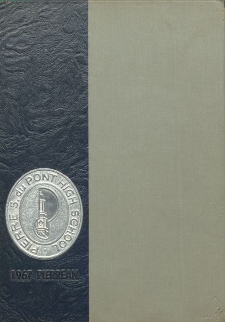 1967 P.S. DuPont High School Yearbook Cover