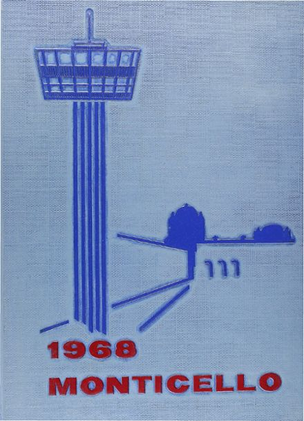 1968 Thomas Jefferson High School Yearbook Cover