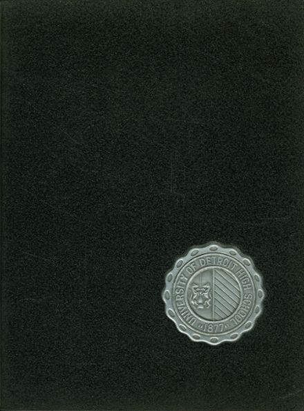1960 University of Detroit High School Yearbook Page 1
